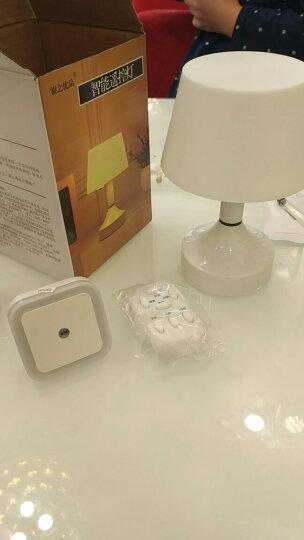 歌特朗 起夜卧室床头灯 婴儿喂奶遥控充电台灯 led光控小夜灯声控插电夜灯 黄光智能遥控送夜灯 晒单图