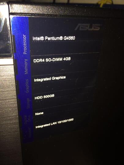 华硕(ASUS)灵睿K20 家用办公台式电脑整机(Intel奔腾G4560 4G 500G 集显 10L小机箱)21.5英寸 晒单图