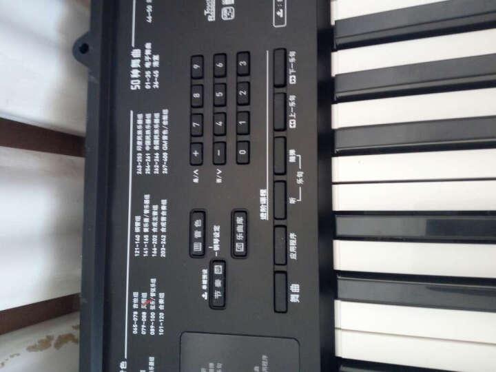卡西欧(CASIO) 卡西欧电子琴成人61键儿童初学入门考级专业乐器 仿钢琴键 CTK-3500裸琴+出厂标配 晒单图
