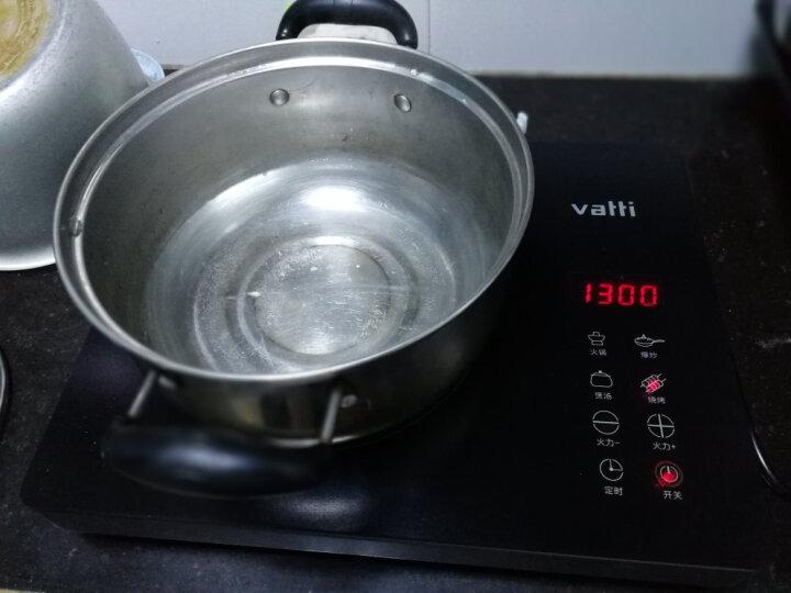 华帝(VATTI) 电陶炉家用爆炒光波炉大功率  无高频辐射电磁炉 不挑锅具 太空灰 晒单图