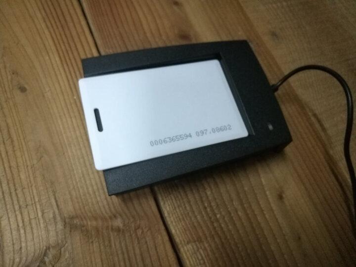 固尚IC读卡器id卡读卡器感应非接触式ICIDM1卡会员积分机读卡器USB门禁系统发卡器刷卡机 ID后8位发卡器 晒单图