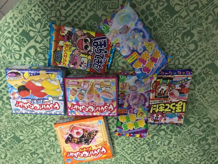 日本食玩kracie儿童手工DIY寿司甜甜圈糖果甜点玩具自制食玩大礼包进口零食 套餐A(6款DIY食玩):3盒3袋 晒单图