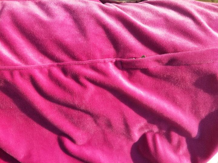 喜连理四件套 水晶绒四件套 加厚保暖法莱绒珊瑚绒法兰绒短毛绒天鹅绒双面绒磨毛四件套 YLX-蒂景繁花 被套220x240床单245x265枕套一对 晒单图