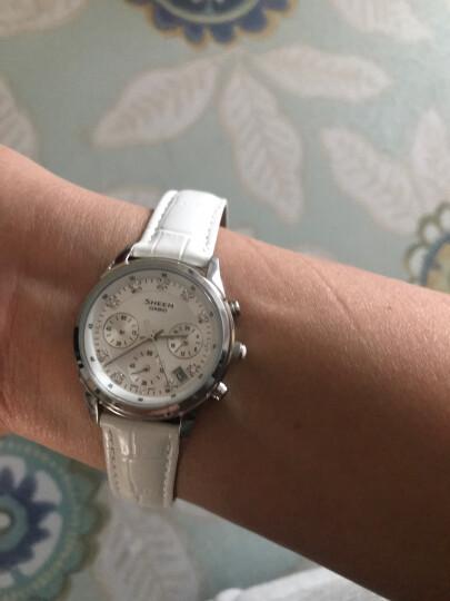 卡西欧(CASIO)手表 女士石英腕表 防水时尚百搭款 SHE-5017L-4A 晒单图