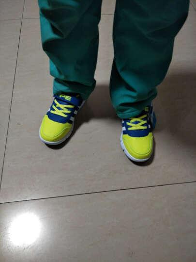 七波辉男童鞋 春季新款男童中大童青少年休闲透气儿童皮面鞋子 711黑色 32码/内长约21.0cm 晒单图