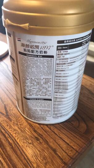 海普诺凯1897 澳优 孕妇配方奶粉 荷兰原罐进口妈妈奶粉 800克 晒单图