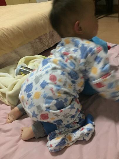 米乐鱼 婴儿睡袋抱被新生儿童宝宝秋冬防踢被3段历险太空80*52cm 晒单图