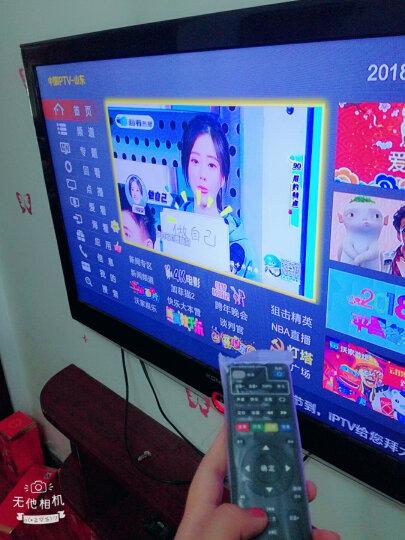 嘉沛 TV-517 机顶盒遥控器 适用中国联通创维网络播放器 E8205 E900 E910 黑色 晒单图