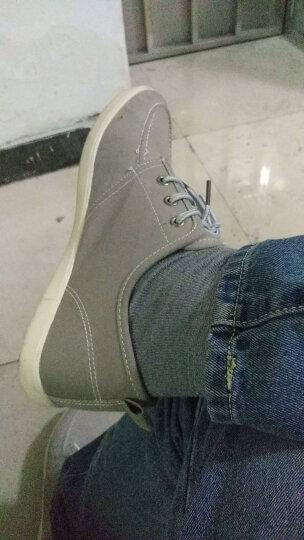 回力男鞋上海经典运动鞋透气帆布鞋男鞋单鞋春季舒适休闲板鞋新品 黑色739T 40 晒单图