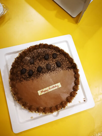 MCAKE mcake榛果摩卡布拉吉生日聚会蛋糕上海北京杭州苏州配送 巧克力/干果 二磅 晒单图