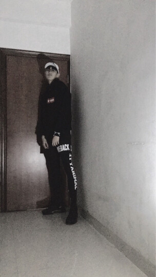 依采奴运动裤男长裤 春秋季薄款速干弹力篮球裤健身运动短裤跑步裤假两件紧身足球保暖打底裤训练压缩裤潮牌 CQ11黑色短裤 4XL重/95公斤左右 晒单图