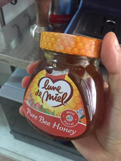 泰国原装进口 阔普坤咔 天然野生龙眼花纯蜂蜜玻璃瓶装450g 晒单图