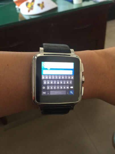 Hi-PEEL Hi5智能手表 银色黑表带 16G 晒单图