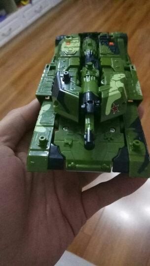 锦江 变形5 擎天大黄蜂恐龙 变形玩具模型 汽车机器人模型 男孩玩具 坦克+装甲+飞机(礼盒装) 晒单图
