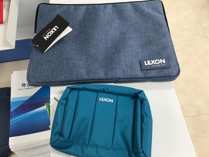 法国LEXON乐上便携式防水收纳洗漱包 男女出差旅行化妆包收纳包 LNE0102 B34T蓝色 晒单图