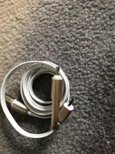 摩奇思(mokis)Micro USB转Type-C二合一安卓手机充电转接头数据线/手机充电线 1米 土豪金 支持小米4C乐视 晒单图