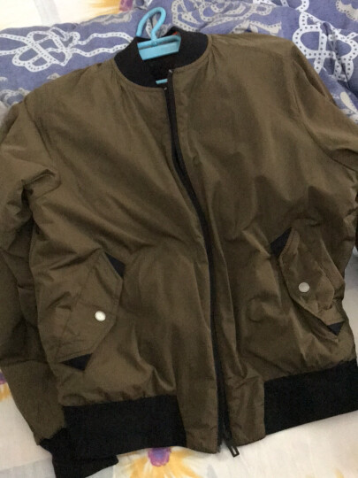 【彭于晏同款】阿迪达斯ADIDAS 2017冬季 男子 UH TT RVS 梭织夹克 BQ5589 M码 晒单图