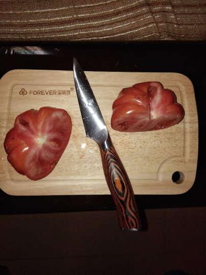 宝丽雅(FOREVER) 切菜板实木砧板菜板厨房加厚长方形砧板正宗泰国橡木案板水果刀板 JM35-1大号家用款400*300*22MM 晒单图
