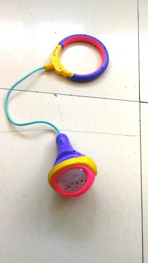 奥迪双钻(AULDEY)儿童运动旋转跳跳球 潮流闪光蹦蹦球 儿童户外健身运动球 星舞球(紫色) 晒单图