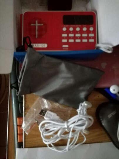 好牧人基督教播放器基督教礼品高清福音播放器以马内利迷你耶稣讲道点读机 红色 16G  送布套+耳机 晒单图