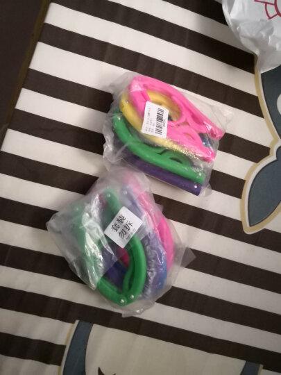 图跃(TUYUE) 晾衣架折叠衣架旅行衣架塑料晾衣架旅游便携式出差挂衣服架(5个装)(2件起售) 晒单图