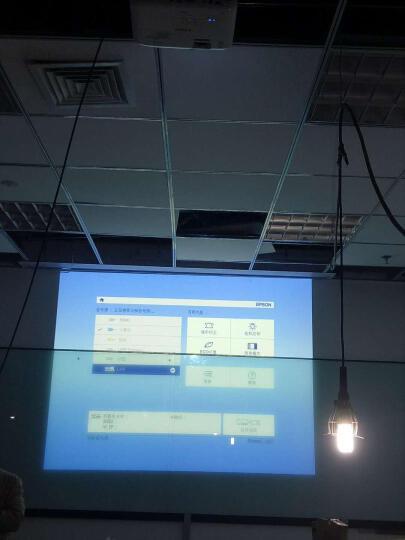爱普生(EPSON) 商务工程投影仪 高清办公投影机 CB-2042(4400流明 标清) 官方标配 晒单图