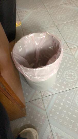 齐心(COMIX)L204易擦洗圆形清洁桶/纸篓/垃圾桶φ25.2cm蓝色 晒单图