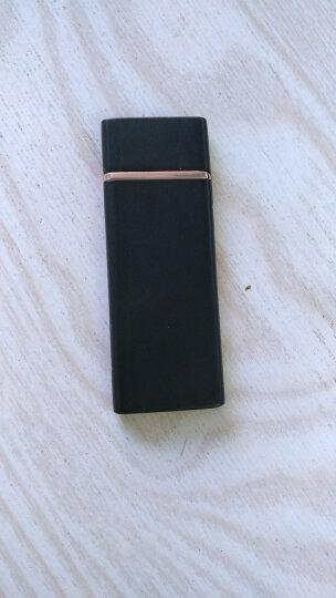 佐罗ZORRO充电打火机 防风金属创意个性 男女电子点烟器 免费刻字 玫瑰金(刻字版) 晒单图
