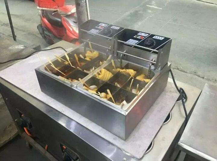 迪火 电热关东煮机器商用麻辣烫设备家用串串香煮丸子鱼蛋机 12格双6L锅 晒单图