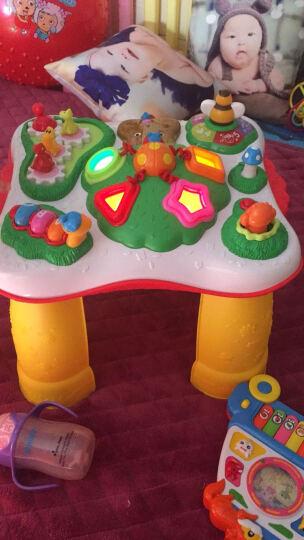英纷婴儿多功能学习桌 幼儿早教宝宝玩具桌婴儿游戏桌1岁宝宝玩具 字母学习桌充电套装+螺丝刀 晒单图