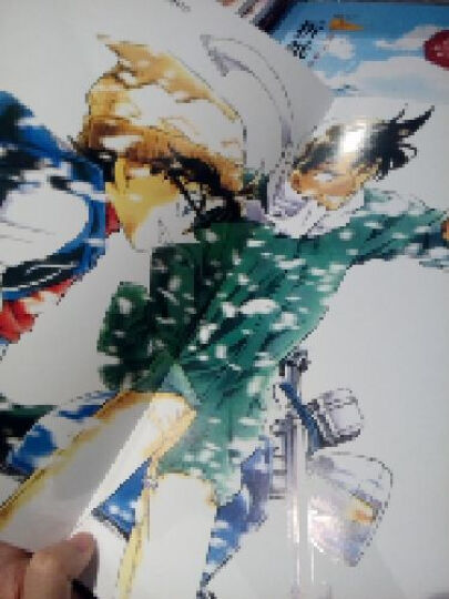 名侦探柯南原画全集(1994-2002) 侦探悬疑小说漫画画集 晒单图