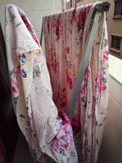 雅巢家纺 韩版四件套公主花边床裙式床罩婚庆床上用品1.5m1.8米床 花雅之秀 1.8米床(被套200*230cm)四件套 晒单图