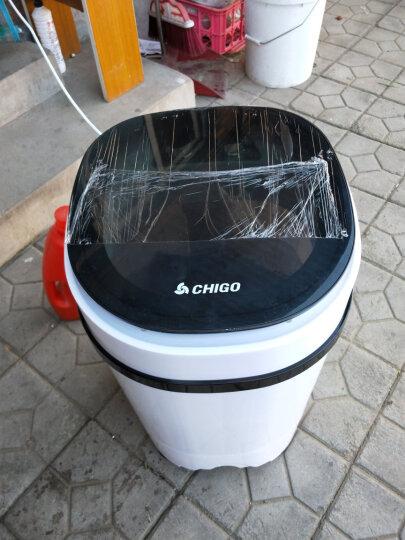 志高(CHIGO)XPB38-40 3.8公斤 单筒单桶婴儿童半全自动波轮家用宿舍租房小型迷你洗衣机 黑色 晒单图