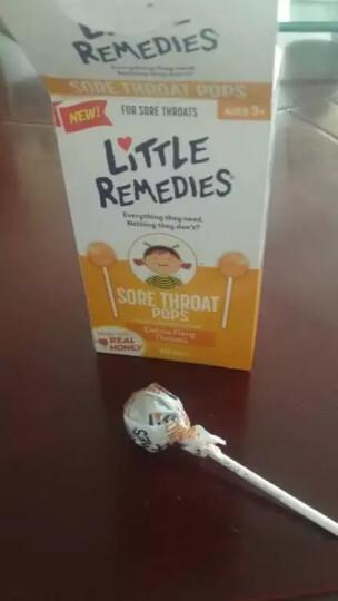 Little Remedies 美国原装进口 儿童蜂蜜止咳棒棒糖 10支 蜂蜜止咳棒棒糖 晒单图