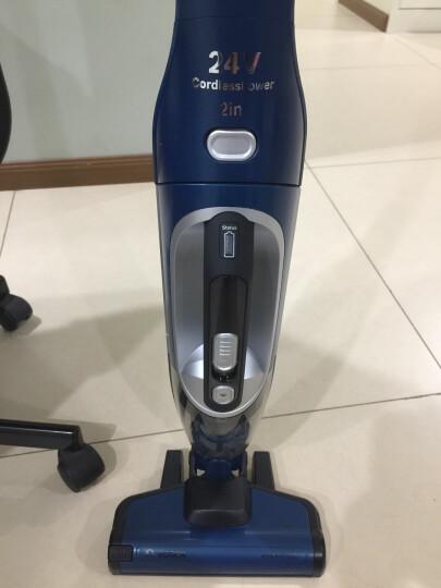 博世(BOSCH)吸尘器无线手持立式二合一静音车载家用BBH22455CN电光蓝 晒单图