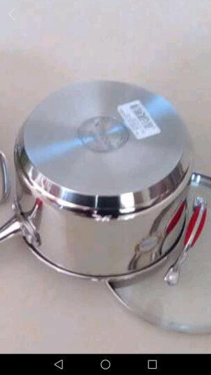 铂帝斯(BODEUX)奶锅18CM宝宝辅食锅婴儿小奶锅304不锈钢小汤锅电磁炉燃气通用 晒单图