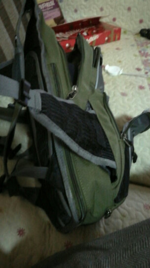 迈路士多功能单车双肩背包自行车骑行包男女旅行包水袋背包户外包 经典版果绿色(15L) 晒单图