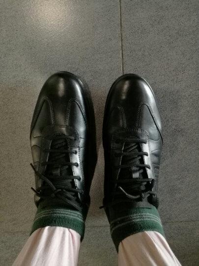 TM专GEOX/健乐士男鞋男士运动鞋舒适透气系带商务休闲男鞋U74A5B 黑色C9999 41.5 晒单图