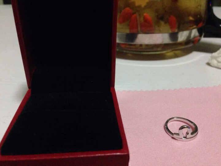 炫银部落 925银十二星座戒指 情侣对戒 开口设计 韩版银饰 时尚饰品 3006006 双鱼座 晒单图