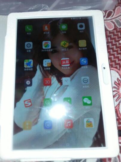 艾电尼 平板电脑10.1英寸八核全网通电信安卓4G通话手机二合一 香槟金(64G)送蓝牙键盘+保护皮套+鼠标+九件套 WIFI+全网通版 晒单图