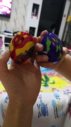 灵动创想(LDCX)爆兽猎人玩具儿童男孩爆丸自动变形蛋对战激战套装-赤鹰VS蛟龙5454 晒单图