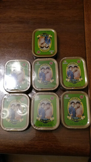 潘高寿 胖大海雪梨糖  水果糖 硬糖铁盒装(五盒装)33g*5 五盒装 晒单图