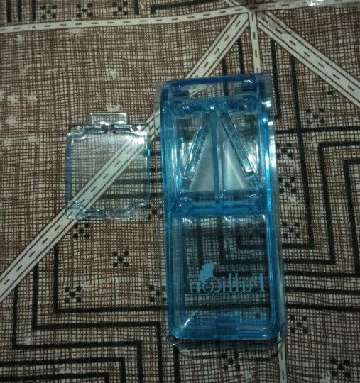 中国台湾护立康 便携集屑切药器 分药收纳 锋利刀片药盒 灰色 晒单图