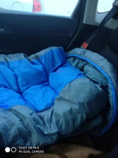 RedCamp 睡袋 户外秋冬季加厚睡袋成人室内午休睡袋 2.3kg 灰色 晒单图
