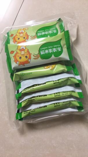 禾泱泱(Rivsea)稻鸭米饼无糖无盐 手指饼干蓝莓味32g(2片x10袋) 晒单图