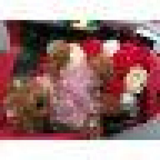 MIEZ保鲜花速递玫瑰花束同城情人节圣诞礼物生日礼物送女友 21朵小熊红色 骑士的守护 晒单图