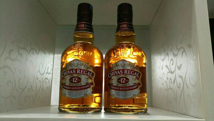 芝华士(Chivas)洋酒 12年 苏格兰 威士忌 500ml 双瓶礼盒 晒单图