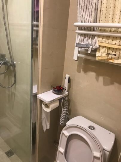 艾芬达 电热毛巾架 智能温控小背篓电加热浴室浴巾架 烘干防潮CN03 喷涂60*50cm配C型温控器 晒单图