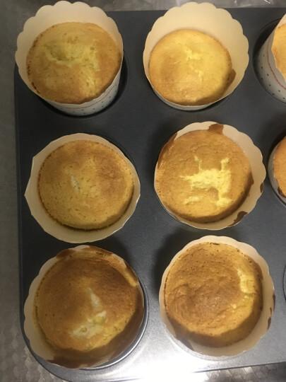 展艺 烘焙模具 12连模烘焙蛋糕模具不沾迷你烤盘麦芬盘纸杯蛋糕蛋挞布丁模 晒单图