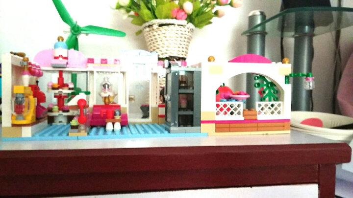 LEGO乐高心湖女孩系列 儿童拼装积木玩具 41119 心湖城纸杯蛋糕咖啡厅 晒单图